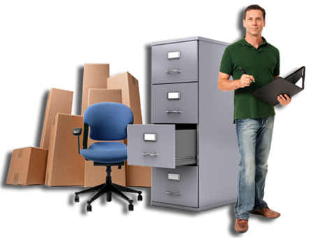 Office Furniture Removal Image